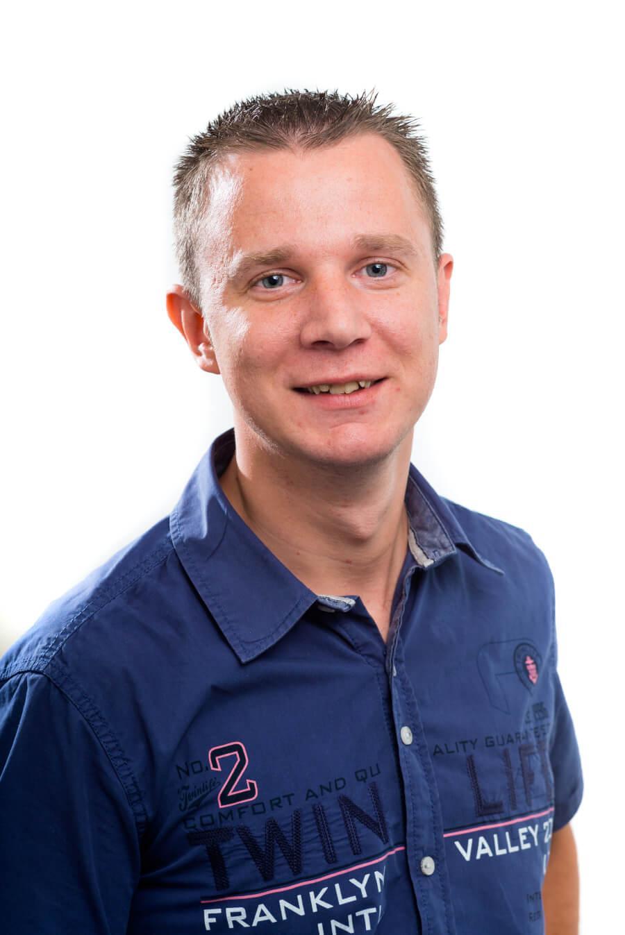 Pasfoto Martin Gijssen