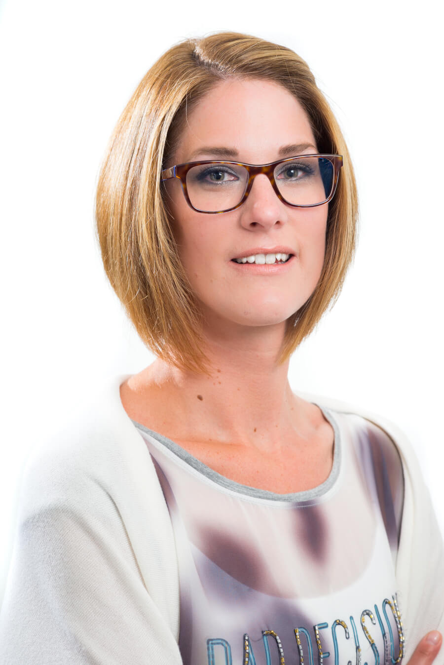 Pasfoto Sandra van der Ster